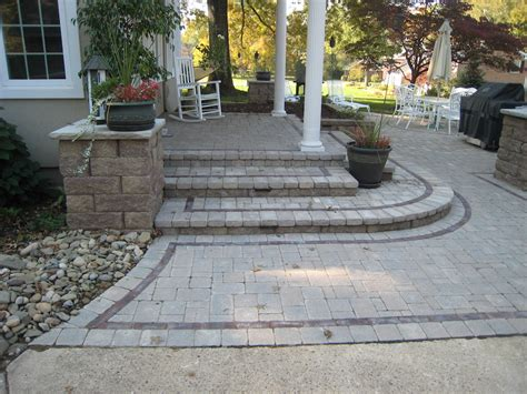Patio Pavers For Grill Inspiration Gallery Greenleaf Landscapes