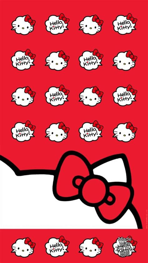 hello kitty red themes red hello kitty wallpaper