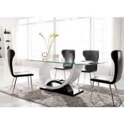 table manger verre design table manger en verre design pas cher