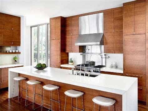 Modern Kitchen Wood Cabinets | modern kitchen cabinet ideas boost the room s appeal
