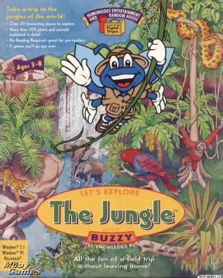 let s learn about jungle animals letã s learn about animals books let s explore the jungle with buzzy pc mac cd learn