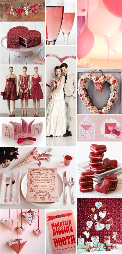 Valentines Day Weddings by All Things Wedding The The New The Borrowed And