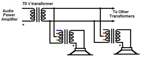 shavano speaker wiring 70 volt