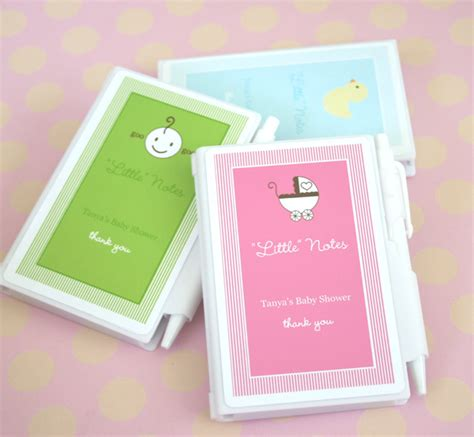 Notebook Giveaways - personalized quot little notes quot notebook favors