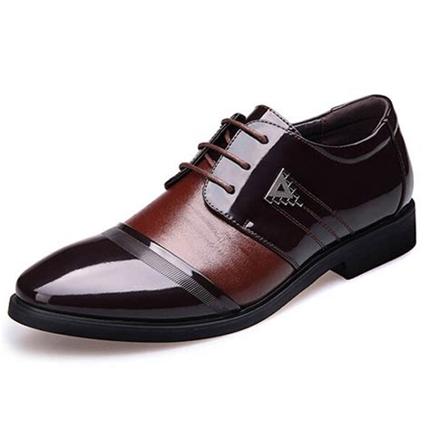 5 best dress shoes for flat flat shoes business casual leather shoes
