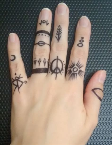 finger tattoo glyphs 62 super cool glyph tattoos that are sure to catch the eye
