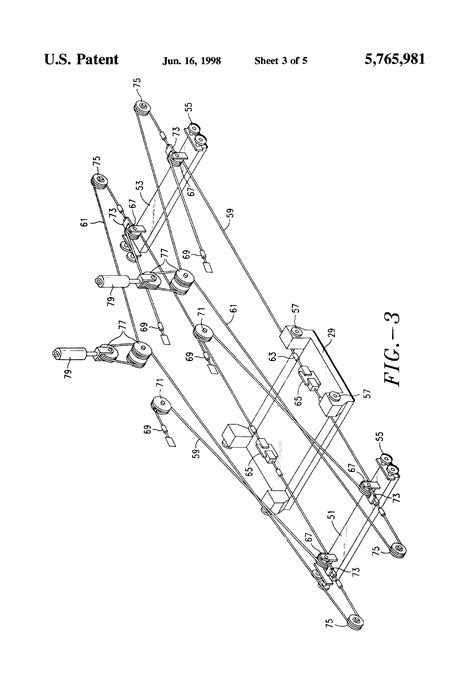 terex cranes wire rope reeving patent us5765981 wire rope tensioning and reeving system for cargo container handling cranes