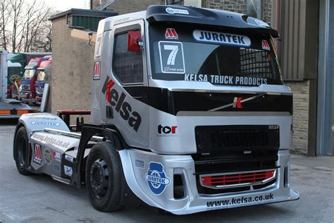 volvo truck series latest news team oliver racing