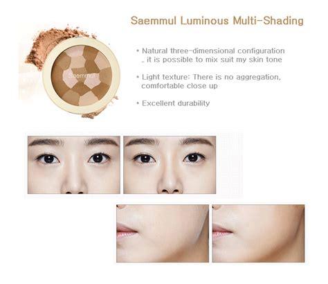 The Saem Saemmul Luminous Multi Blusher the saem saemmul luminous multi shading ibuybeauti