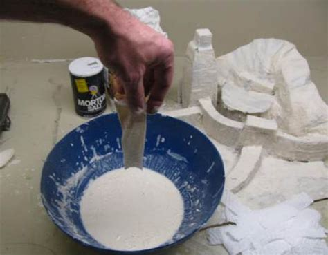 How To Make Flour Glue For Paper Mache - papier mache potato avogadro salad