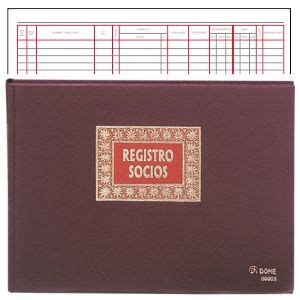 libro como leer los registros libro de registro de socios cooperativa dohe 09914