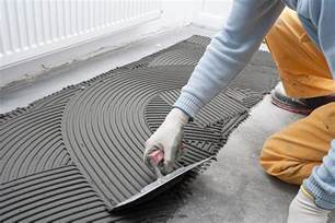 how to install backer board in the floor