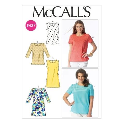 mccall pattern company history mccall pattern company m6927 misses womens tops and tunics