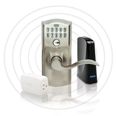 schlage link wireless keypad entry lever lock starter kit