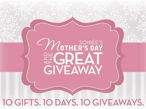 Mother Day Contests And Giveaways - mother s day giveaway starts monday little rock family