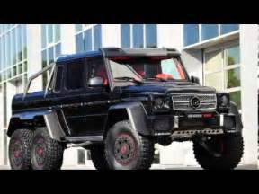 New Wheels Truck 2014 Brabus Mercedes G 65 6x6 6 Wheel Truck Iaa