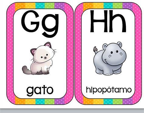 imagenes de animales por abecedario abecedario animales formato tarjetas 4 imagenes educativas