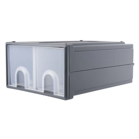 kitchen drawer inserts bunnings oates large twin grey vertical storage stacker drawers