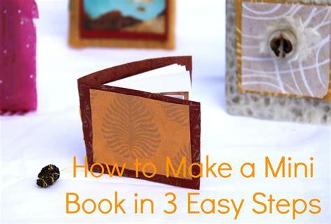 mini picture book how to make a mini book