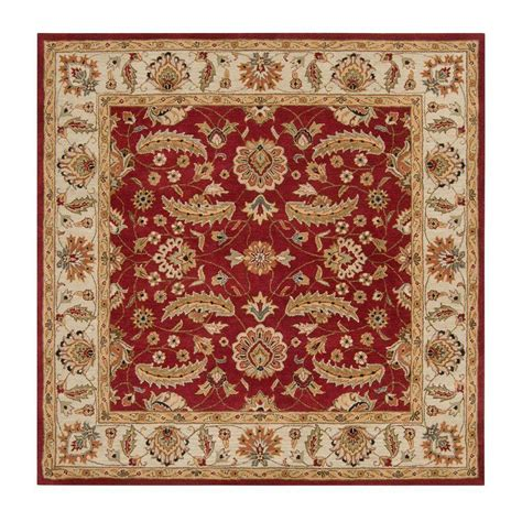 Square Area Rugs 9 X 9 Artistic Weavers 9 Ft 9 In X 9 Ft 9 In Square Area Rug Jhn 1022 The Home Depot