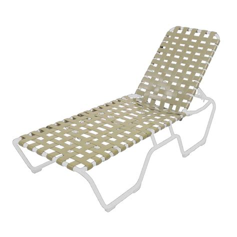 vinyl strap chaise lounge marco island white commercial grade aluminum patio chaise
