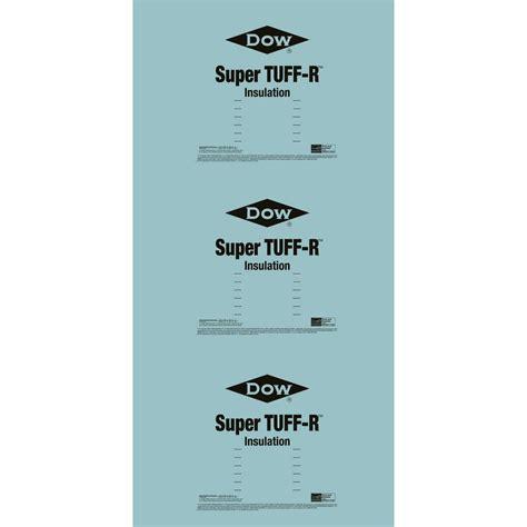 Super TUFF R 2 in. x 4 ft. x 8 ft. R 13 Foam Insulation