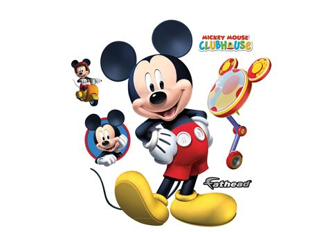 Tomica Dianey Motors Mickey Mouse mickey mouse clubhouse wall decal shop fathead 174 for mickey mouse decor