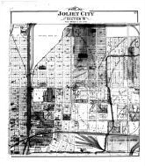 joliet section 8 joliet city section 10 atlas will county 1893