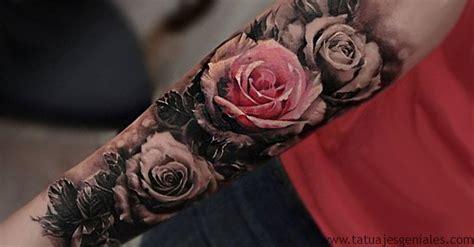 Imagenes De Rosas Tatuajes | 80 tatuajes de rosas y sus significados im 225 genes