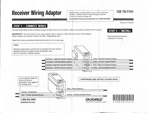 stereo wiring harness diagram zdriver