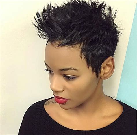 Hairstyles For Black Hair Pixie Cut by 50 Hairstyles For Black Stayglam