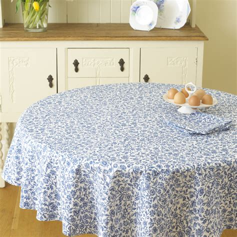 william morris merton blue 58 quot 147cm pvc oilcloth