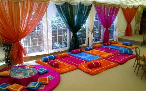 mehndi stage decoration all home ideas and decor home mehndi decor can we rent pillows and floor