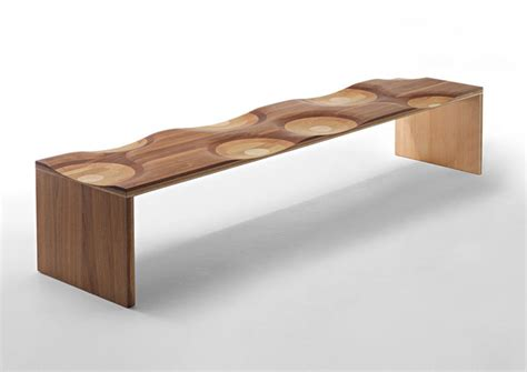 ripple bench ripple series bench custom contemporary furniture