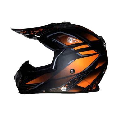 Helm Cross Snail Mx 315 Jual Snail Helmet 315 Helm Orange