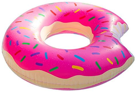 doughnut inner save 50 pink donut pool float 48