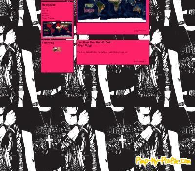 themes tumblr punk black white punk design tumblr themes pimp my profile com