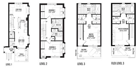 Town House Floor Plans a guide to minto longbranch floorplans minto communities