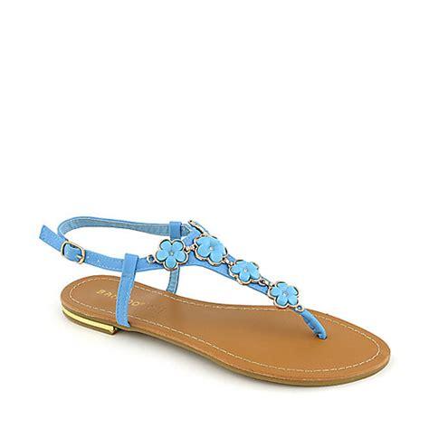 turquoise flat sandals bamboo bryson 01 flat turquoise sandal