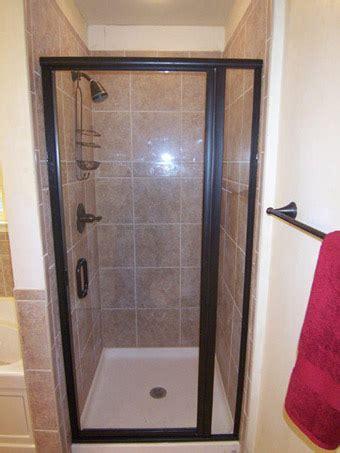 Rubbed Bronze Shower Doors by Framed Door Panel Shower Doors