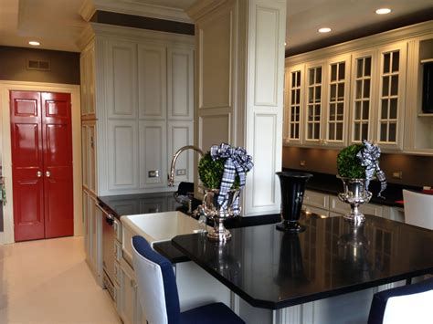 painting wood cabinets creating  bold