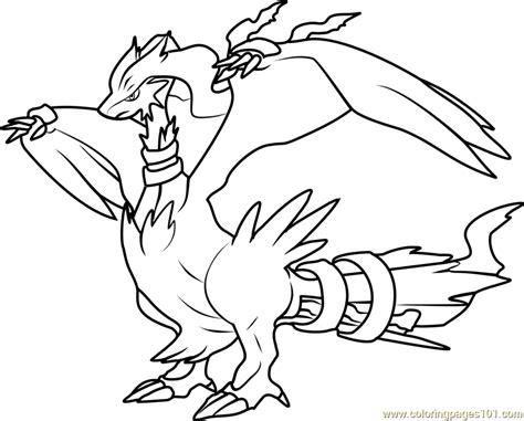 pokemon coloring pages reshiram reshiram pokemon coloring page free pok 233 mon coloring