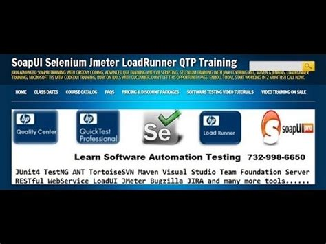 web testing tutorial soapui web service testing online training video tutorial
