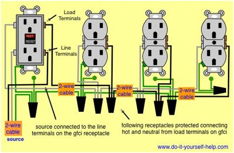 plastic wiring diagram for electrical receptacles 28