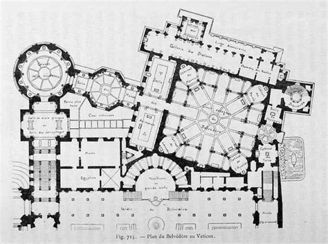 vatican museum floor plan floor plan of the belvedere vatican city floor plans