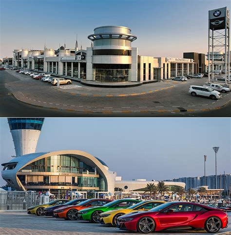 bmw dealership inside fascinating look inside abu dhabi motors the world s