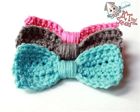 free crochet bow pattern free crochet bow pattern crochet ideas pinterest