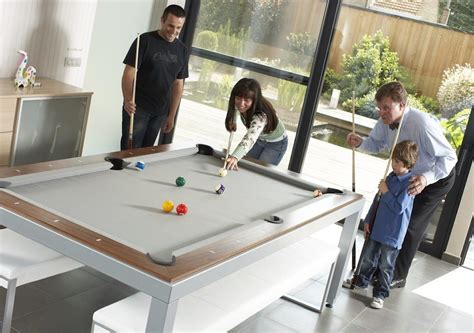 fusion dining and pool table fusion pool table and dining table 187 gadget flow