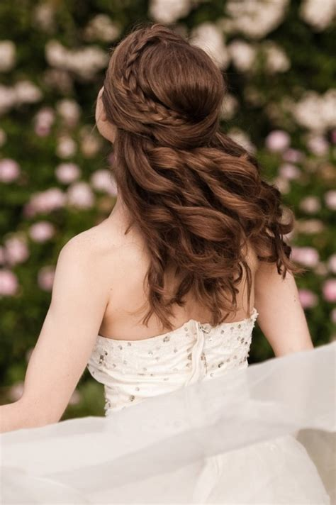 Wedding Hair Up Braids by 10 Of The Best Half Up Half Wedding Hairstyles With