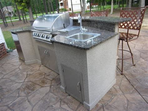outdoor kitchen sinks ideas diy outdoor sink station diy do it your self